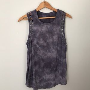 American Eagle soft sexy tie dyed sleeveless top